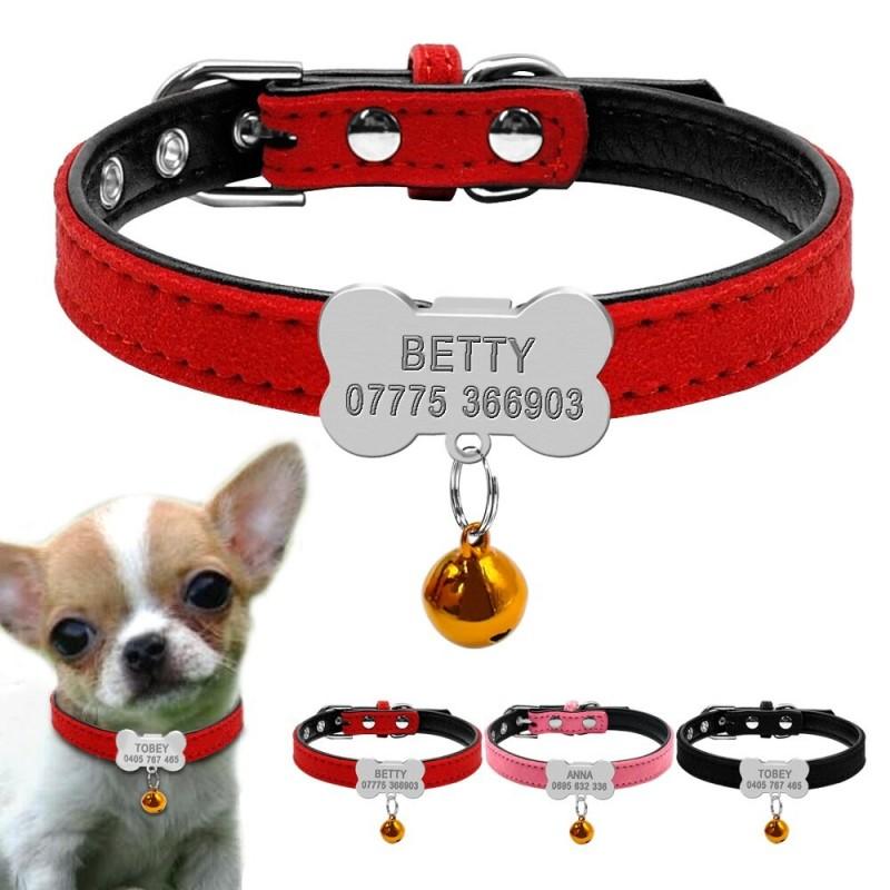 collier chien avec clochette