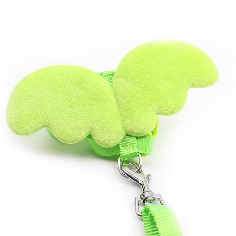 harnais fantaisie pour petit chien vert